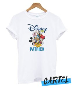 2 Sided Mickey & Friends - Family Vacation awesome T-Shirt