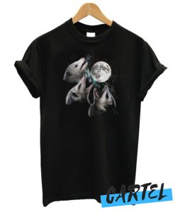 3 Opossum Moon awesome T-Shirt