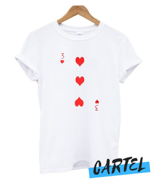 3 of Hearts awesome T-Shirt