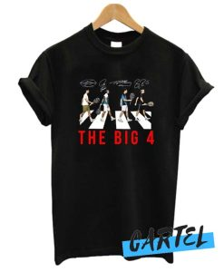 The Big 4 Four Famous Top Tennis Players awesome T-Shirt