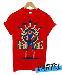 Captain Marvel Avengers Endgame Hero Vibes awesome T shirt