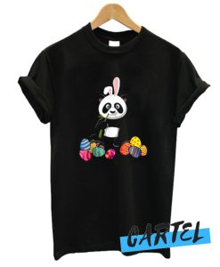 Easter Bunny Panda awesome T-Shirt