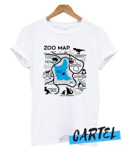 Zoo Map awesome T-Shirt