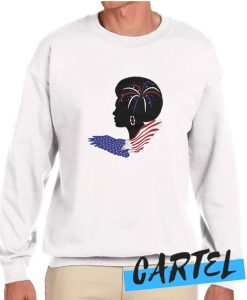 Afro Woman Freedom awesome Sweatshirt