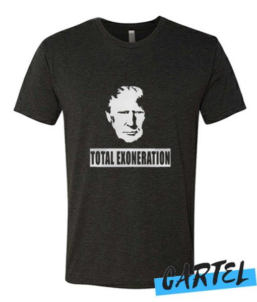 Trump Illustration Total Exoneration Exonerated awesome T shirt