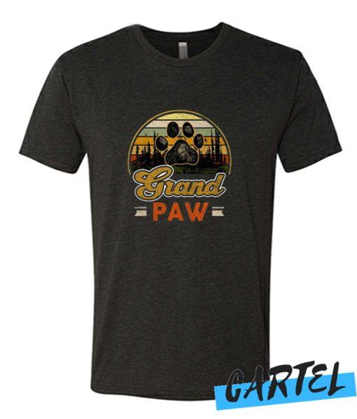 Vintage grand paw dog lover awesome tshirt