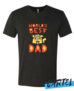 WORLD'S BEST DAD awesome T Shirt