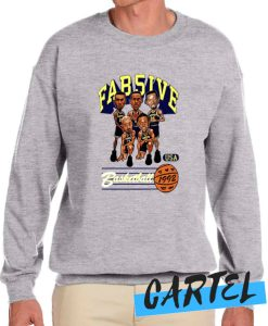ab Five Michigan Retro Caricature awesome Sweatshirt