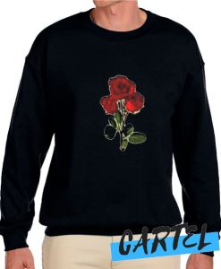 3 red rose awesome Sweatshirt