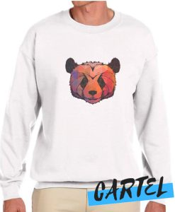 Abstract Panda awesome Sweatshirt
