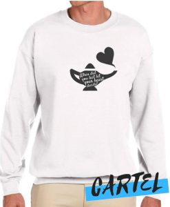 When Did You Last Let Your Heart Decide awesome Sweatshirt