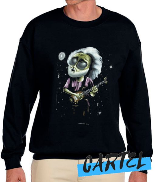 1995 Extra-Terrestrial Jerry Garcia awesome Sweatshirt