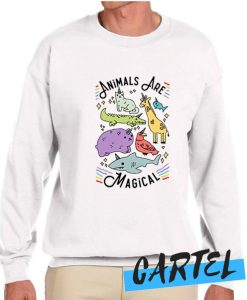 ANIMALS ARE MAGICAL awesome Sweatshirt