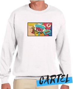 Artistic And Colorful Pop Design awesome Sweatshirt