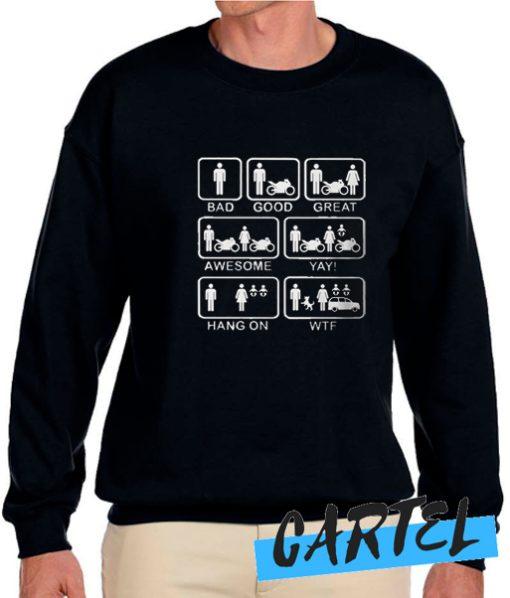 Motorbike Life awesome Sweatshirt