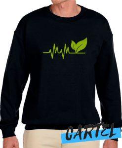 Vegan Heartbeat awesome Sweatshirt