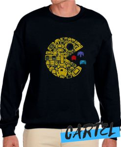 Video gamers classic vintage controller gamer awesome Sweatshirt