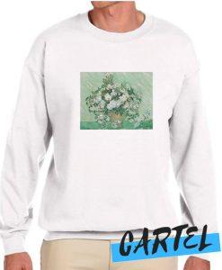 Vincent van Gogh Roses awesome Sweatshirt