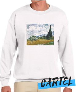 Vincent van Gogh Wheat Field with Cypresses awesome Sweatshirt