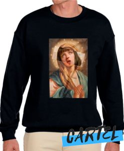 Virgin Mary Uma Therman awesome Sweatshirt