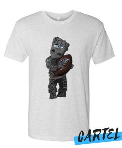 Cool Groot Love Seattle Seahawks American Football Team awesome T Shirt