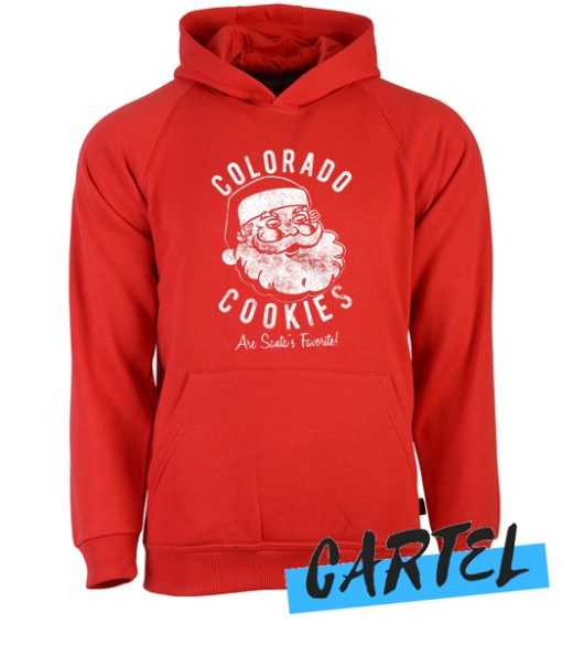 Colorado Cookies Are Santas Favorite awesome Hoodie