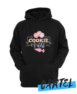Cookie Artist Illustration for Cookie Decorators graphic awesome Hoodie