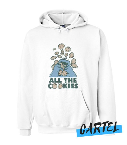 Cookie Monster All The Cookies awesome Hoodie