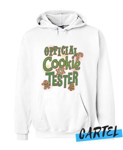 Official Cookie Tester Christmas awesome Hoodie