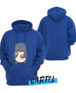 Sunday Penguin with Mug and Cookie awesome Hoodie