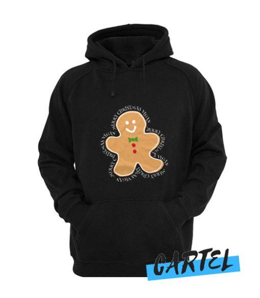 cookie man vegan merry christmas awesome Hoodie