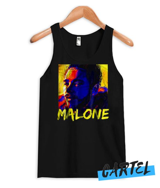 Malone Vintage Rapper Post Malone awesome Tank top
