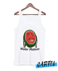 POST MALONE - FUNNY WATER MALONE PARODY awesome Tank top