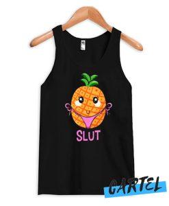 Pineapple Slut Funny Naughty Cartoon Tank Top