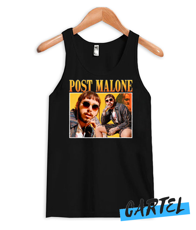 Post Malone Awesome Tank Top