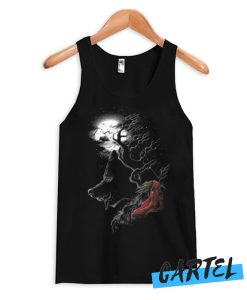 Red Walking Misfits awesome Tank Top