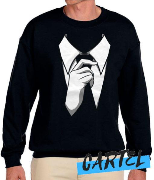 Suit Tuxedo Sweatshirt