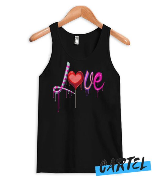 Valentine's Day Love awesome Tank Top