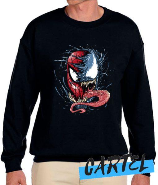 Venom VS spiderman Sweatshirt