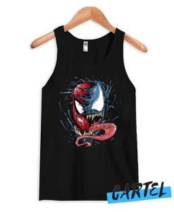 Venom VS spiderman Tank Top