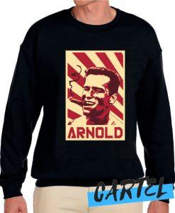 Arnold Schwarzenegger Retro Propaganda Sweatshirt