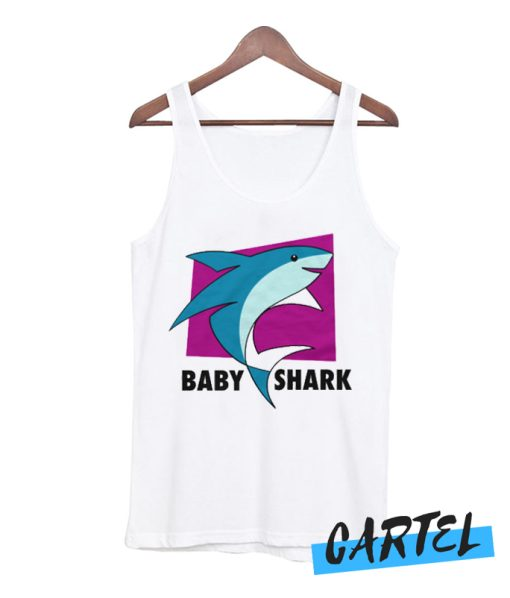Baby Shark Light Tank Top