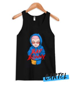 Bad Bunny Illustration Tank Top