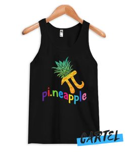 Cute Pi Day Pineapple Fruit Lover Tank Top