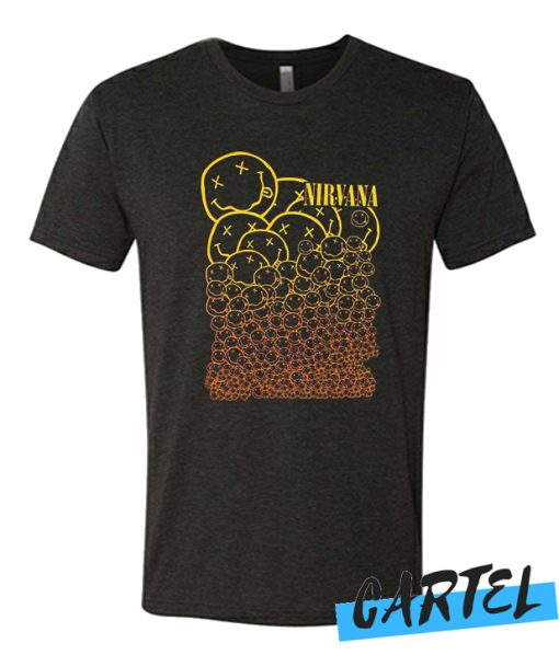 Smiley Face Logos Nirvana awesome T-Shirt