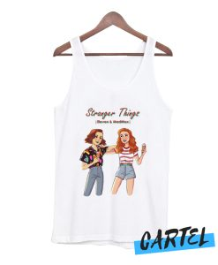 Stranger things Eleven and Madmax Tank Top