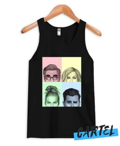 The Schitts Creek Colorful Cast Tank Top