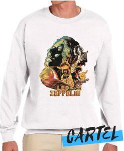 Zeppelin on Fire Sweatshirt