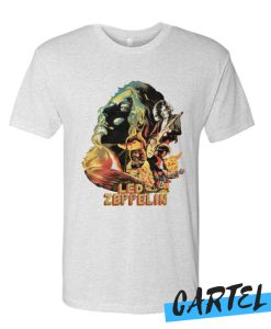 Zeppelin on Fire T Shirt