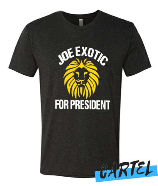 joe exotic for president awesome t shirt